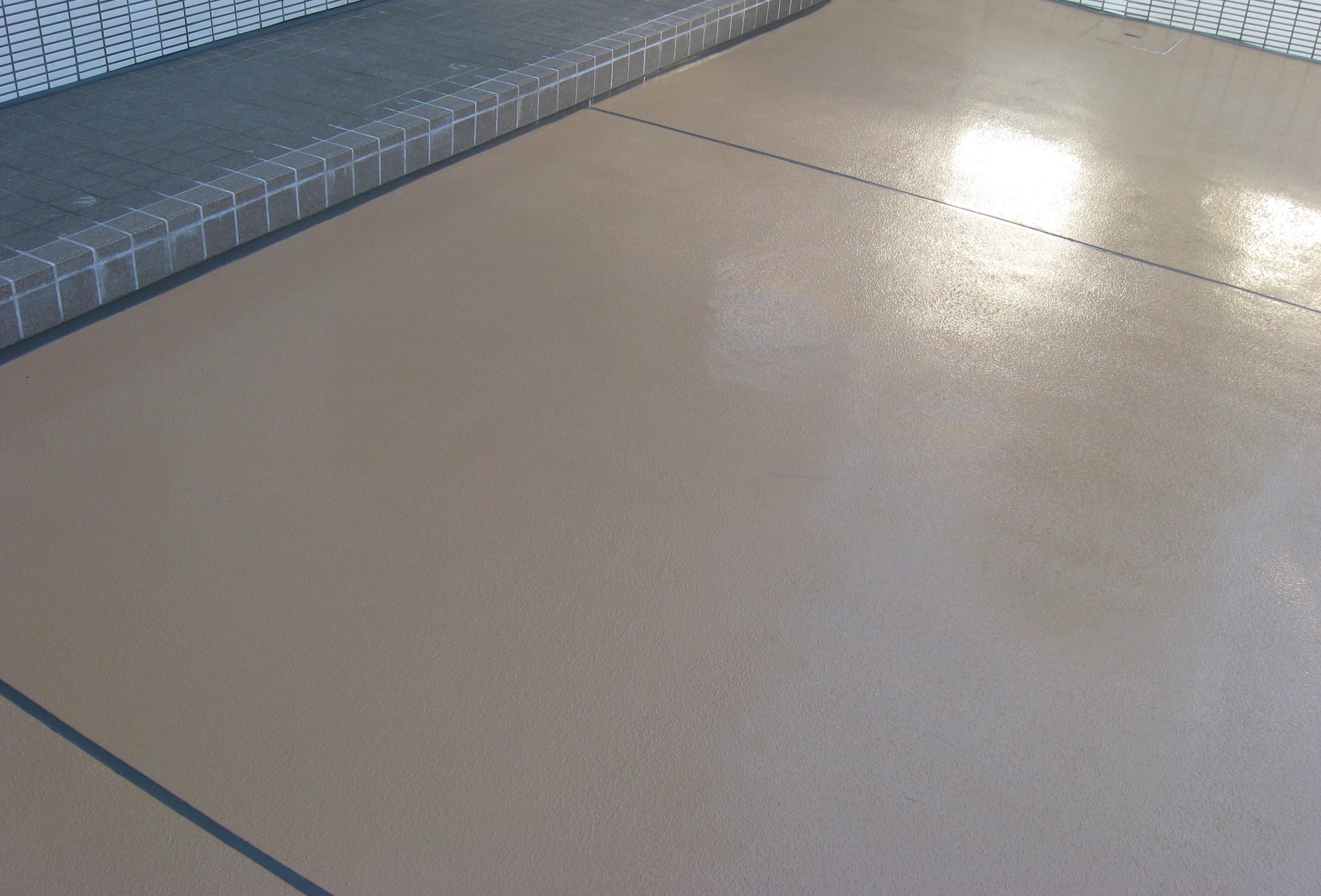 いろいろな塗り床